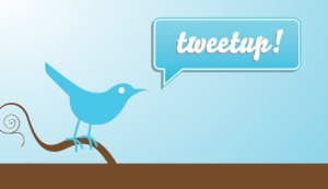 tweetup logo with twitter bird