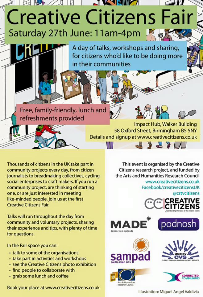 creative citizens fair flyer